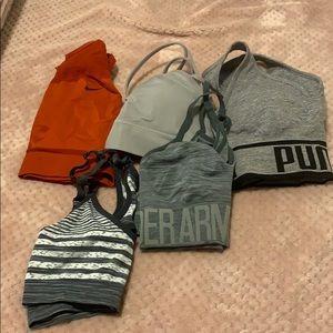 Nike Intimates & Sleepwear - 5 sports bra size medium